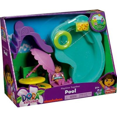 Dora Pool Set With Accessories - Fisher Price