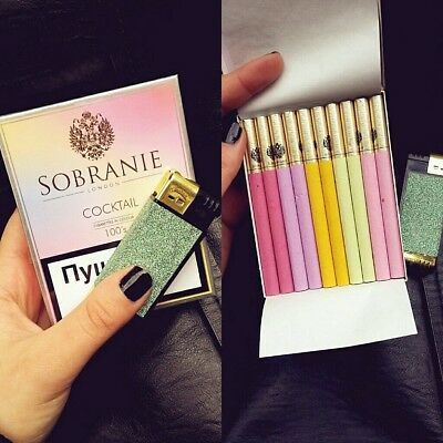 2 x SOBRANIE london Cocktail Collectible