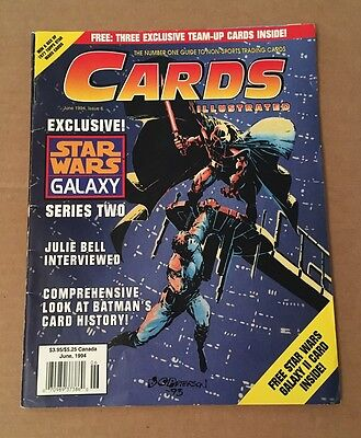 CARDS Illustrated June, 1994 - Exclusive! STAR WARS GALAXY, Series Two > L@@K