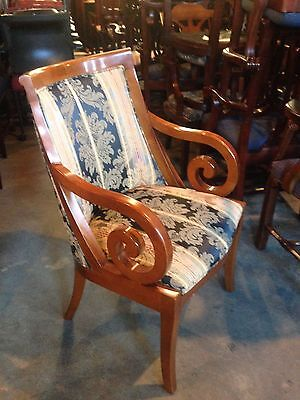 councill Craftsman set of two wood guest arm chairs in perfect condition.