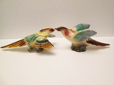 Stewart B. McCullough Courting Pheasant Figurines Calif. 50's