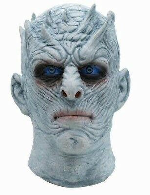 Game of Thrones White Walker Full Head Night's King Mask Halloween Costume Mask