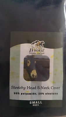 IV stretch horse head and neck cover