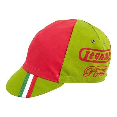 LEGNANO PIRELLI RETRO CYCLING BIKE CAP - Vintage  Fixed Gear - Made in Italy