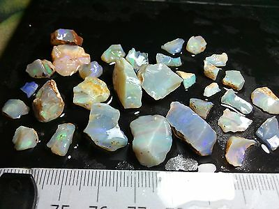 Australian Opal Rough Lambina mix - 825 CT - 230 pieces