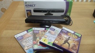 Xbox 360 : Kinect Sensor Bundle Including 4 Games