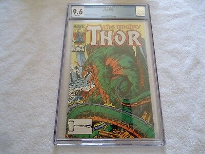 Marvel Thor 341 Cgc 9.6 White Pages Walt Simonson Nick Fury Hulk Avengers