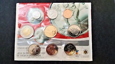 Canada Mint Set - Special Edition Uncirculated Coin Set - Olympic Winter Games