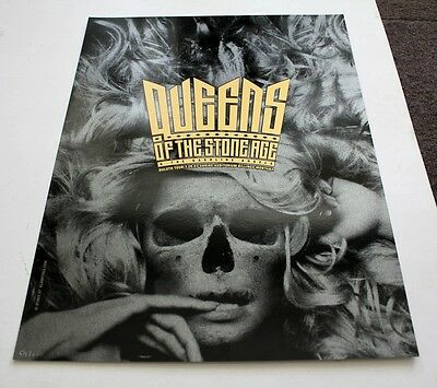 QUEENS OF THE STONE AGE poster ltd edition screenprint Billings MT 07 hynes