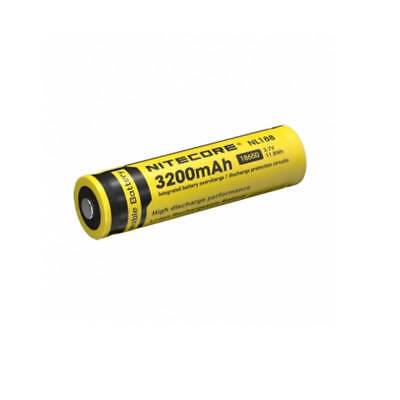 Nitecore 3200mAh 18650 Li-ion Rechargeable Battery