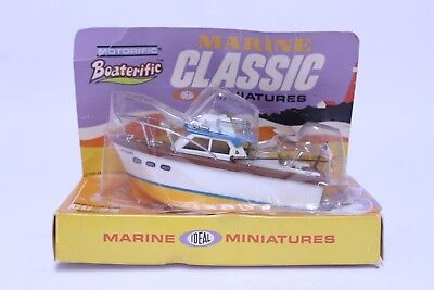 Vintage Ideal Motorific Boaterific Barracuda Sport Fisherman Boat In Package