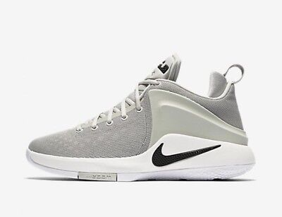 official photos fe6db 9437b Nike Men s ZOOM WITNESS New LeBron Pale Grey Black Basketball Shoes 852439  011