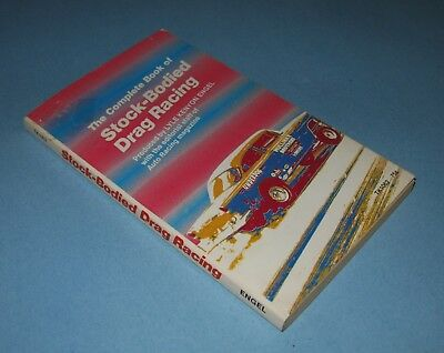Complete Book Stock Bodied Drag Racing - Lyle Kenyon Engel  - Scholastic - 1975