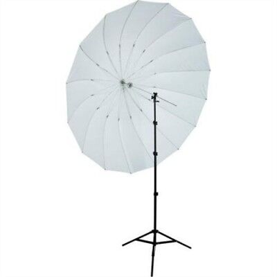 Westcott 7-Feet Parabolic Umbrella Speedlite Kit (White/Black)--4634P