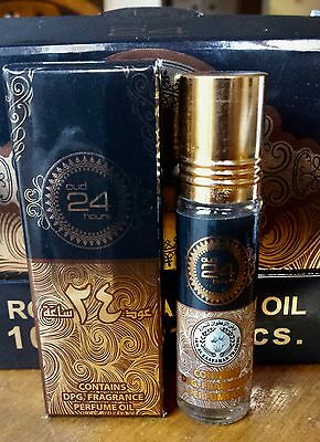 OUD 24 HOURS by ARD AL ZAAFARAN CONCENTRATED PERFUME OIL ATTAR 10ml ALCOHOL FREE