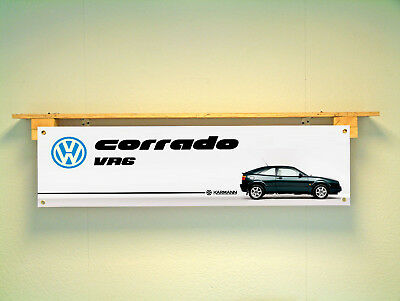Volkswagen Corrado VR6 Banner for VW Workshop Garage classic car show