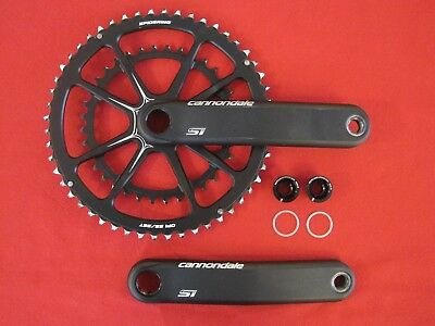 Cannondale Hollowgram Si Spidering Road Bike Double Crank/ Chainset 52/36,race