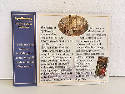 Lilliput Lane-Apothecary-L2055-1997-Deeds Certificate -Very Rare