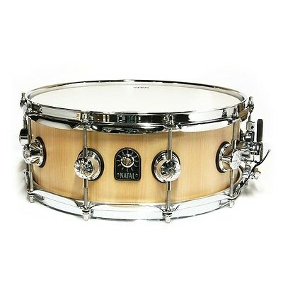 """Natal Pure Stave 14"""" x 6.5"""" Maple Snare Drum"""