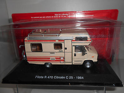 Citroen C 25 Pilote R 470 Camping Car Collection Hachette 1:43