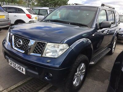 05 Nissan Pathfinder 2.5 Dci Se 7 Seats, Spare Or Repair, Drives But Fuel Pump