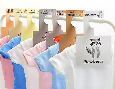 BABY WARDROBE DIVIDERS | Clothes Organisation  | Newborn - 2yr | Woodland Animal