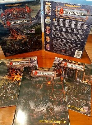 D&D Birthright Campaign Setting GREAT CONDITION, COMPLETE.