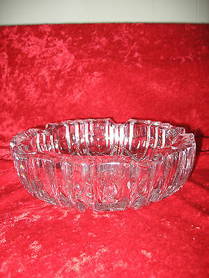 Vintage Cut Glass Ashtray
