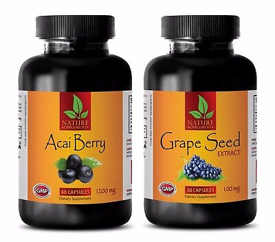 Fat burner - ACAI BERRY – GRAPE SEED EXTRACT COMBO - acai berry cleanse