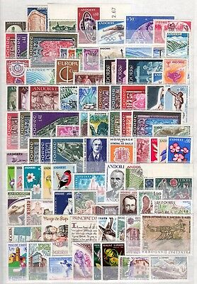 A36674/ Andorre Andorra – 1964 / 2008 Collection Neuve ** / Mint Mnh 351 €