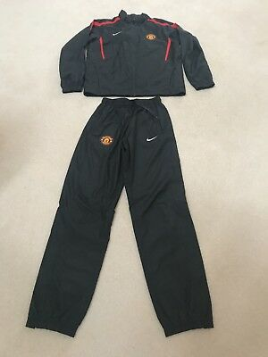 Boys Age 12/13 Manchester United Track Suit