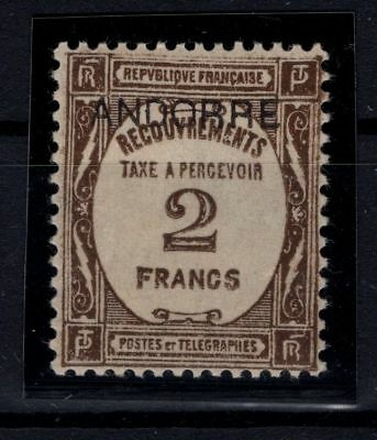 P36668/ Andorre Andorra – Maury # T14 Neuf * / Mint Mh 250 €