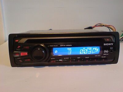Sony Cdx-Gt25 Car Stereo Radio Mp3 Wma Aux Cd Player