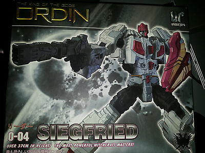 Transformers 3P Siegfried Ordin not Abominus ONLY BOX, no toy, Unique Toys, MP