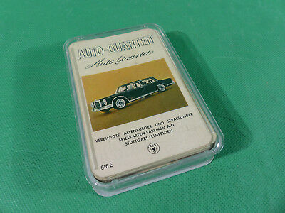 Altenburger ASS 616 E Auto - Quartett Spiel vintage