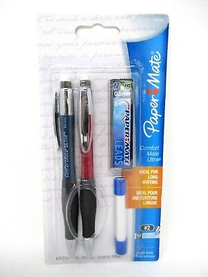 Papermate ComfortMate Ultra Mechanical Pencil 0.5 mm With Extra Lead And Erasers