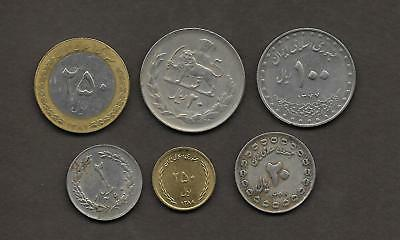 IRA N   Lote de 6 monedas  /   LOT 6  Coins