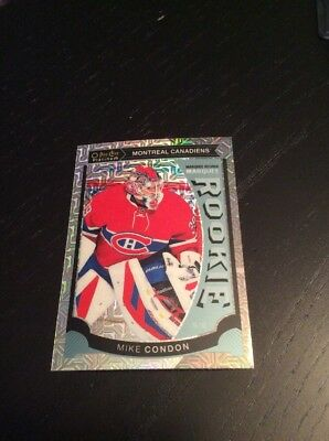 2015-16 OPC Platinum Marquee Rookie TRAXX Mike Condon Montreal Canadiens! M32