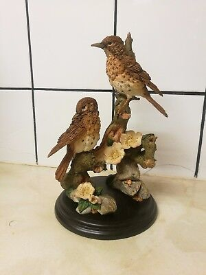 Country Artists Figurine : Pair of Thrushes