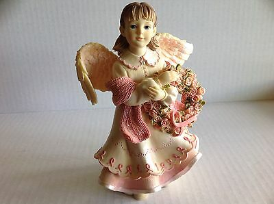 """Angels Among Us """"Angel of Hope"""" Figurine by Betty Singer 2003"""