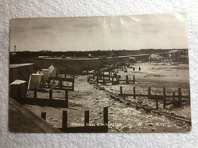 Old Real Photographic Postcard - Minnis Bay, Birchington