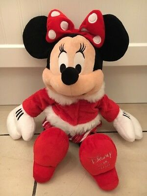 Walt Disney's Disney Store Minnie Mouse Soft Toy Plush 18""