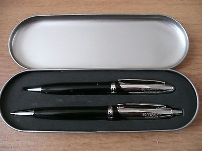 P&O Ferries 50 Year anniversary Pen & Pencil Set- Rare