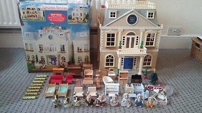 Sylvanian Families Grand Hotel, Furniture and Figures Bundle