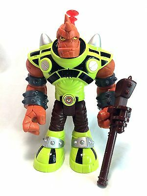 """Fisher Price Planet Heroes Slash The Red Giant 8"""" Loose Action Figure EUC"""