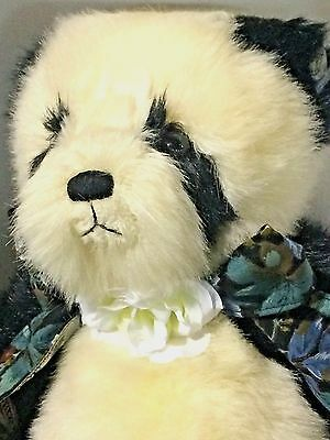 "Annette Funicello Carol Black LE 1,500 Chubs 18"" Teddy Panda Bear Plush NRFB MIB"