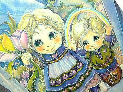 """""""MOM"""" Mother's Day Art Print by Jody Bergsma 4x6 Matted Wall Decor #1631 of 7500"""