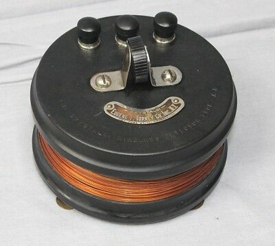 Early 1915 Eugene Turney Crystaloi Type AA Wireless Radio Detector