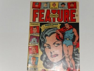 Feature Comics #85  February 1945 Quality Comics 56 Pages,  Doll Man , 10 Cents
