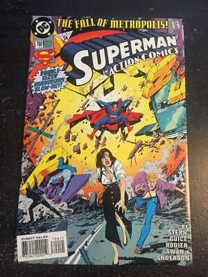 Action Comics#700 Incredible Condition 9.4(1994) Guice Art!!